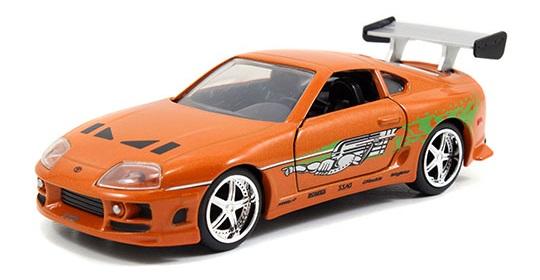 coleccion rapido y furioso, coleccion rapido y furioso jada tyos, coleccion rapido y furioso 1/32, Brian's Toyota Supra