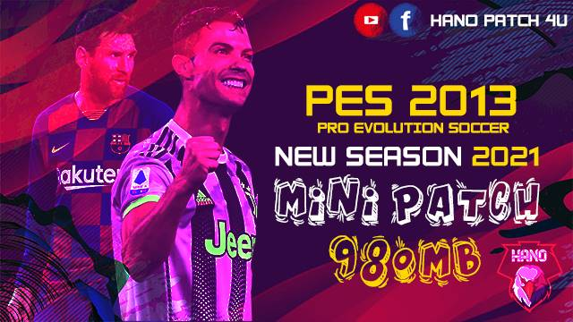 PES 2013 New MINI Patch Season 2021 V1