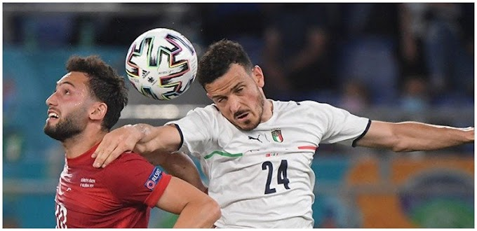 Italy beat Turkey 3-0 in Euro 2020 opening game