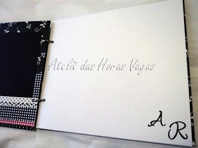 livro álbum mensagens assinatura personalizado