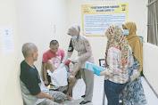 Dokter Urdokkes Polres Pandeglang Cek Kesehatan Warga Binaan Rutan