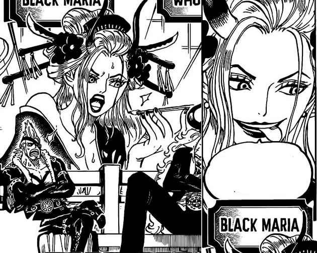 Black Maria One Piece
