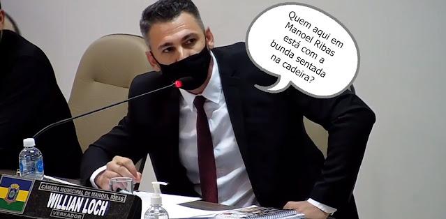 Manoel Ribas: E o clima esquentou na Câmara!