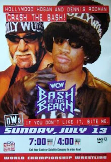 WCW Bash at the Beach 1997 - Event Poster