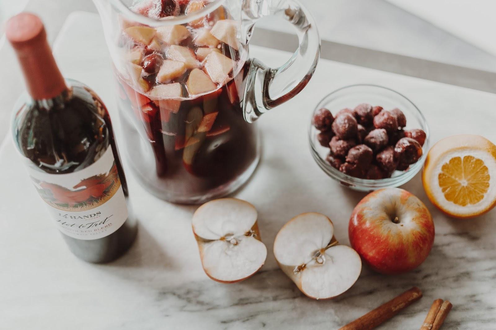 Cherry Apple Fall Sangria