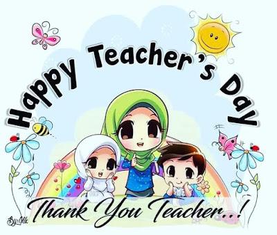 Terima kasih cikgu Happy Teachers Day  Selamat Hari Guru 'inspirasi hidupku dekat di hati Macam-macam ada segalanya bermula di sini