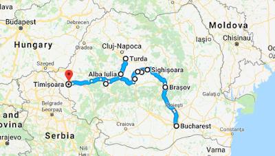 autostop w Transylwanii co i jak