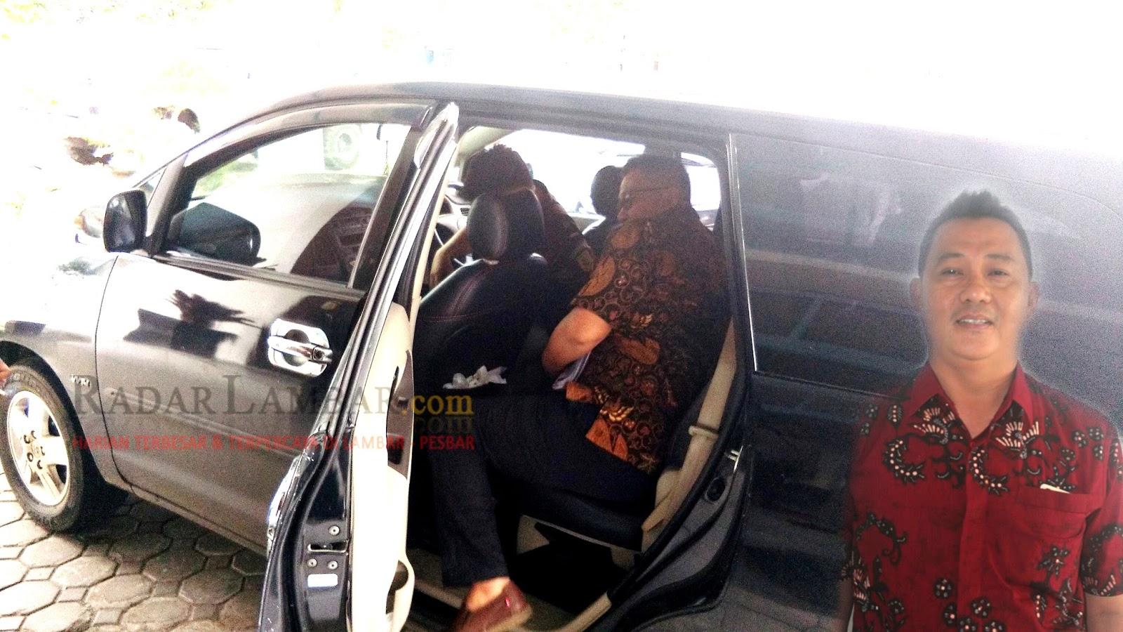 Akhirnya Arif Usman Ditahan Penyidik Kejari Liwa