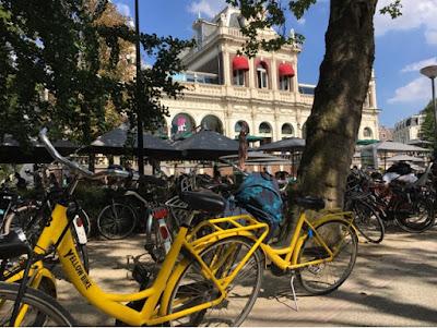 velo bike Amsterdam voldenpark3 restaurant