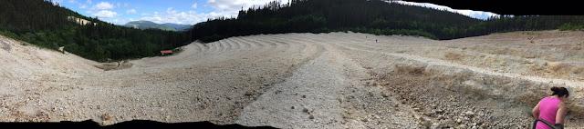 prospection mont lyall Gaspésie pierres cristaux géodes