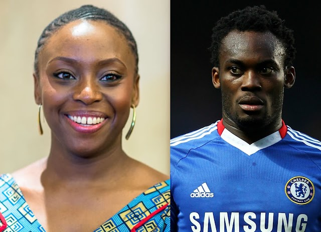Michael Essien Caught my attention - Chimamanda Adichie