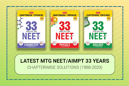[Pdf] Download NEET/AIPMT 33 Years Chapter Wise Solved Papers | MTG Latest Edition