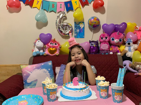Happy 6th Birthday Valentina