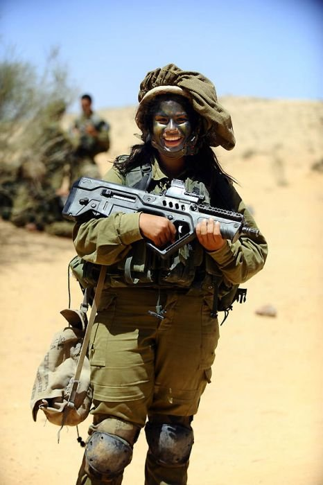 Female Soldiers Of The Israel Defense Forces Israeli Army -2962