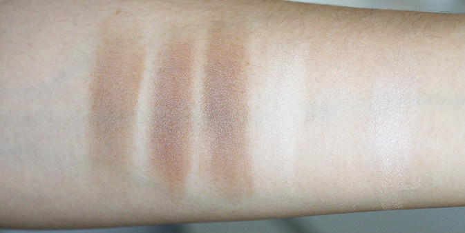 beauty junkees powder contour kit review swatch