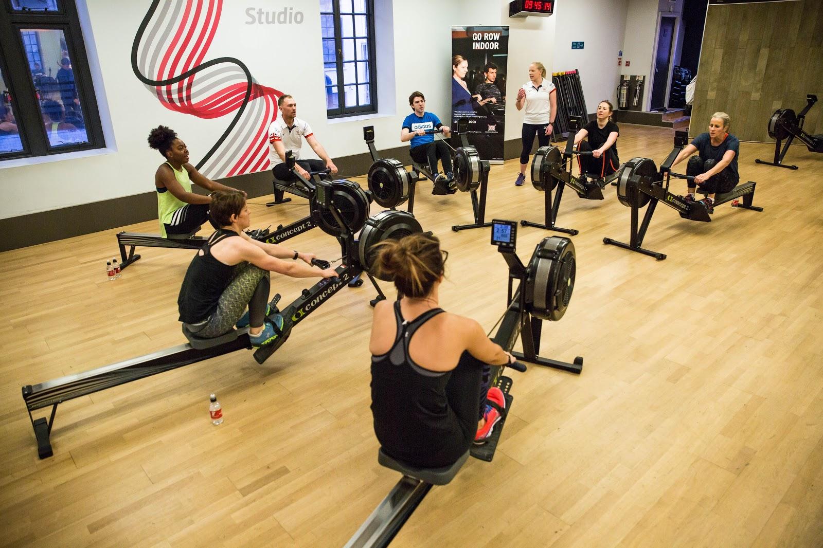 Go Row Indoor with British Rowing