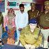 ट्रेनों में चोरी करने वाले दम्पति को जीआरपी पुलिस ने पकड़ा