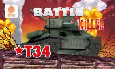Battle Killer T34 3D V1.0.0 Android APK Game