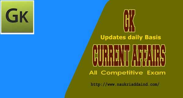 Daily Gk Updates 2019
