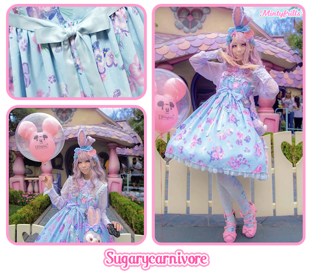 sugarycarnivore, mintyfrills, angelic pretty, sweet lolita, sweetie violet,