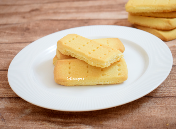 Shortbread (Galletas de Mantequilla) Vídeo Receta