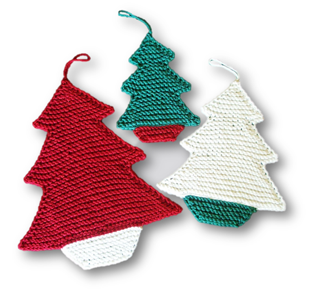 Knitting work in progress pattern christmas trees solutioingenieria Images