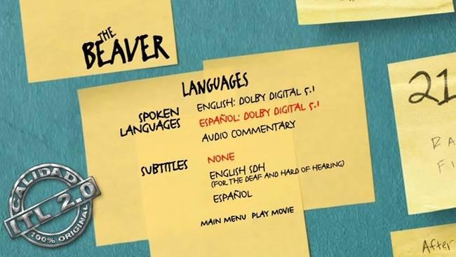 The Beaver DVDR Menu Full Español Latino 2011 ISO NTSC