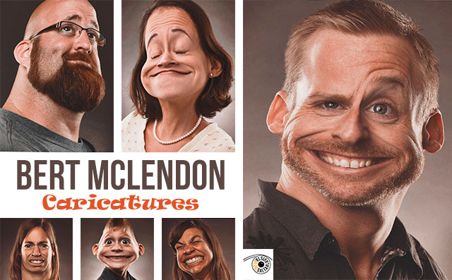 Caricatures by Bert McLendon en Saltaalavista Blog