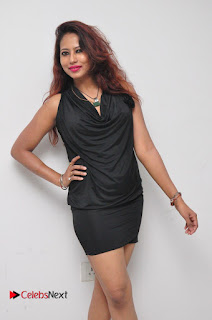 Model Sonia Pictures in Black Dress at Yes Mart Event  0015