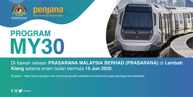 Permohonan Program MY30 Rapid KL Malaysia (Semakan Status)