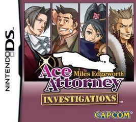 Ace Attorney Investigations Miles Edgeworth
