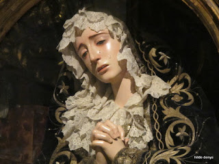 Grieving Madonna, Cathedral of Seville, Spain