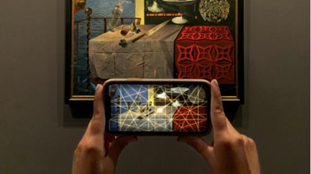 The dali museums AR app