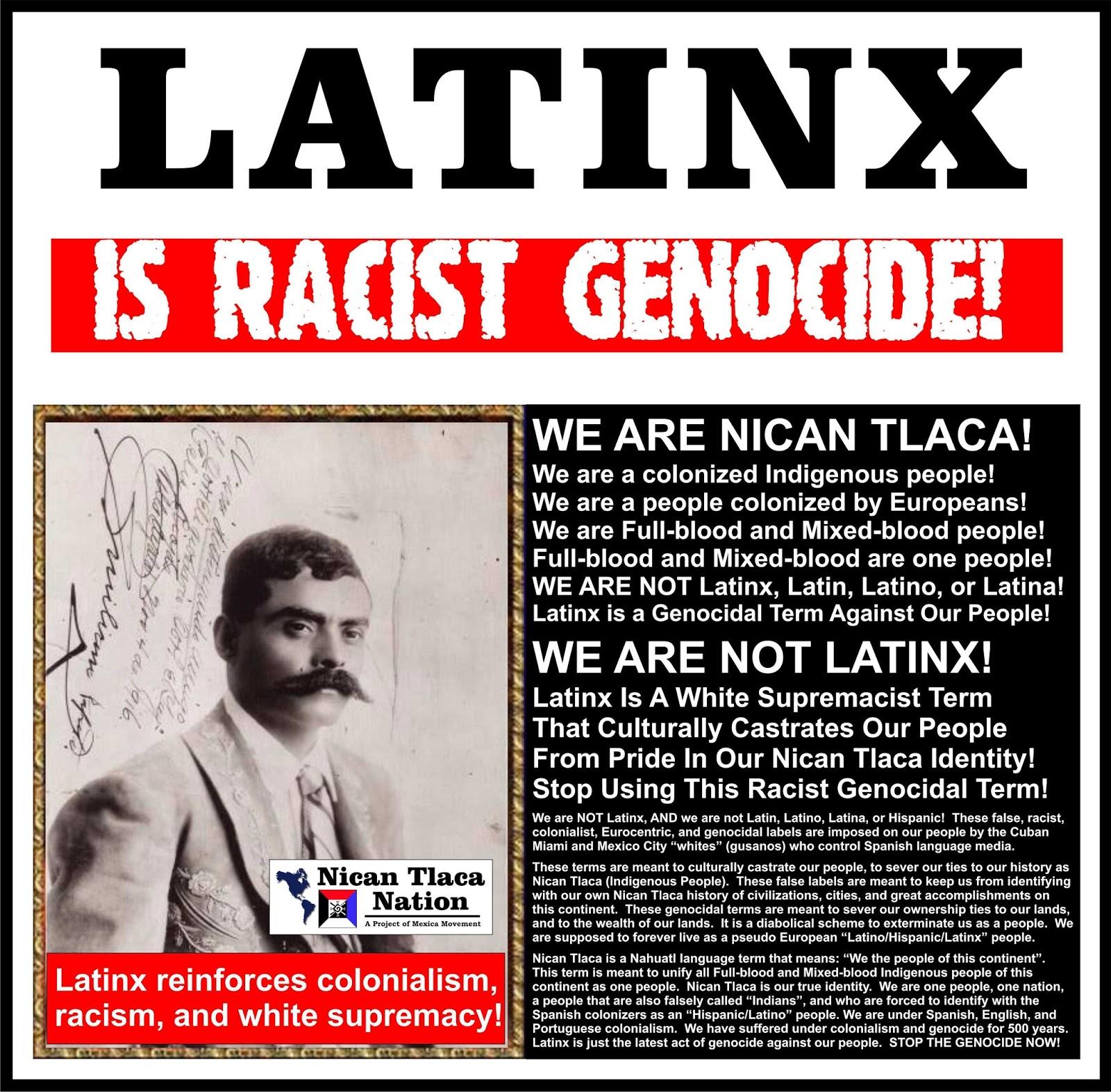 Spaniard racism against latins