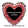 Balon Foil Love / Foil Hati Kreasi Sendiri (NEW ARRIVAL)