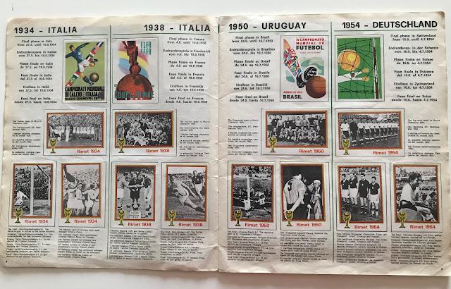 Figurine mondiali Monaco 74