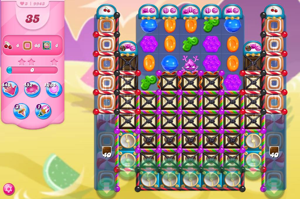 Candy Crush Saga level 9943