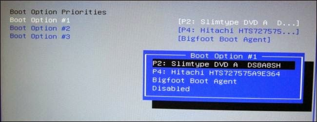 How To Change the Boot Order in Your Computer's BIOS ~ Big
