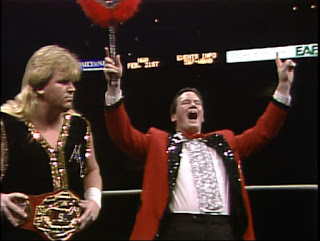 NWA Bunkhouse Stampede 1988 Event Review - Jim Cornette cheered on Bobby Eaton in a TV title match against Nikita Koloff