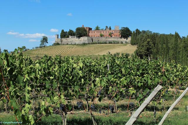 Castello di Brolio, Chianti, Toscana, Itàlia