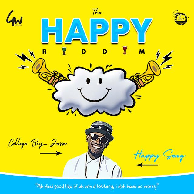 Le son Soca de College Boy Jesse - Happy Song (2020)