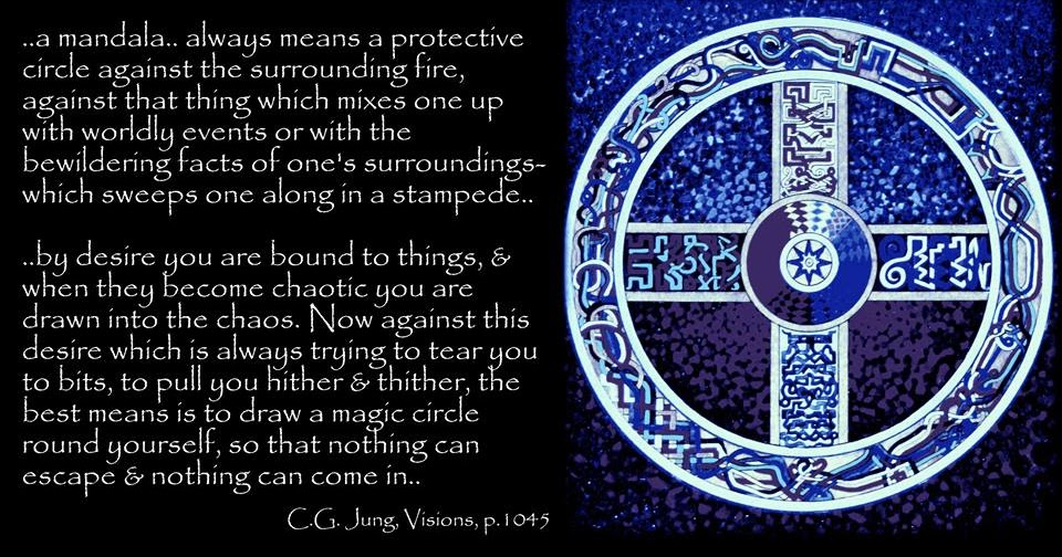 Dr. Jung: Yes, by desire you are bound to things, and when they become chaotic you are drawn into the chaos.