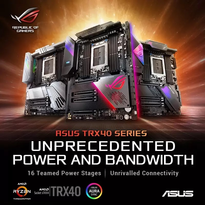 ASUS TRX40 Motherboards