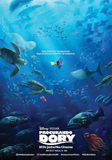 """Poster do filme """"Procurando Dory"""""""