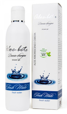 shampoo-doccia fresh water Aloe-beta con Aloe Arborescens