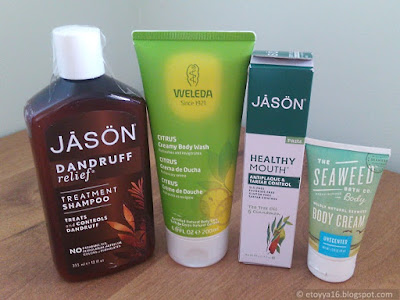 Jason Natural, Weleda, Seaweed Bath Co.