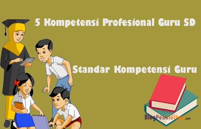 Ini 5 Kompetensi Profesional Guru SD Yang Patut Diketahui