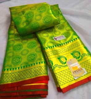 Kanjivaram Green