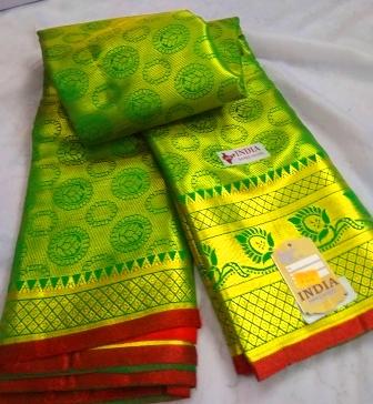 Kanjivaram Green-27