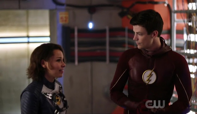 Barry and Nora - The Flash Season 5 Episode 1 Breakdown